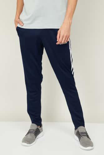ADIDAS Men Striped Regular Fit Track Pants
