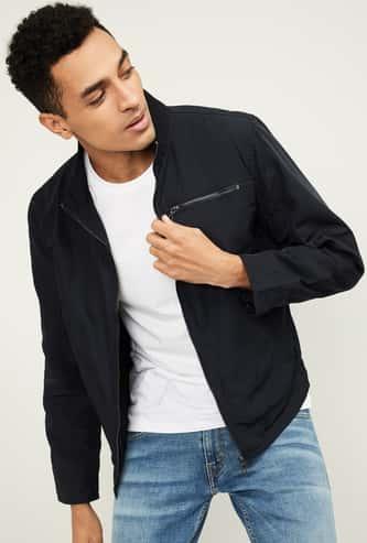 CELIO Men Solid Casual Jacket