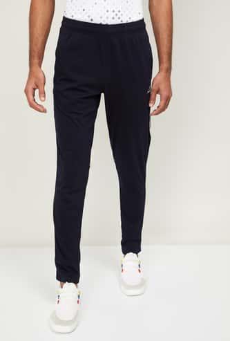 ALCIS Men Solid Elasticated Track Pants