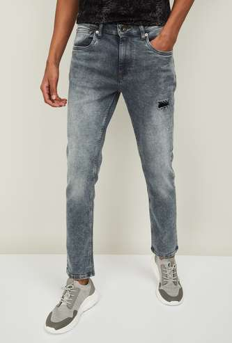VOI JEANS Men Stonewashed Skinny Fit Jeans