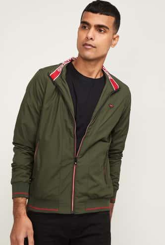 SPYKAR Men Solid Open-Front Jacket