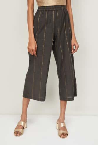 MELANGE Women Embroidered Flared Pants