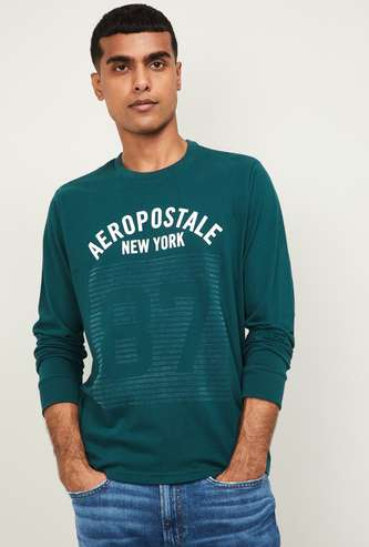 AEROPOSTALE Men Printed Crew Neck Sweatshirt