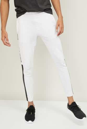 KAPPA Men Textured Elasticated Track Pants