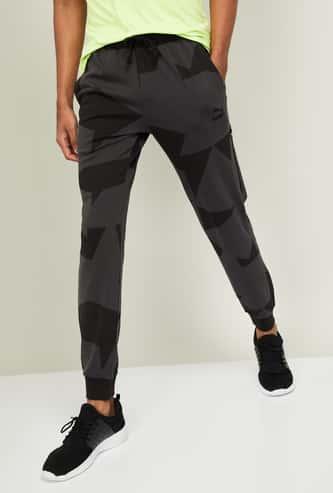 PUMA Men Printed Regular Fit Joggers