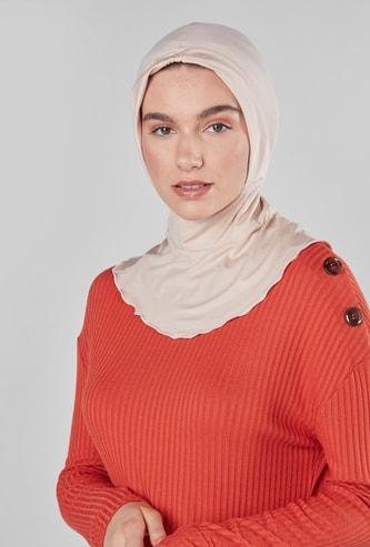 كاب داخلي سادة للحجاب