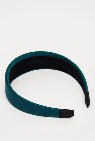 Solid Broad Hairband
