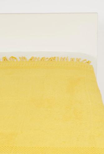 بطانية خفيفة بارزة الملمس بتفاصيل شرّابات - 152x127 سم