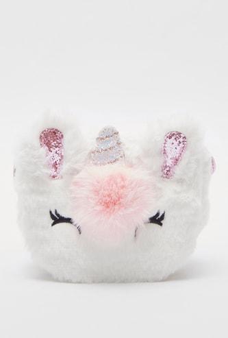 Kittycorn shaped Crossbody Bag