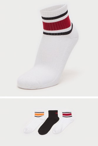 Pack of 3 - Assorted Ankle Length Sports Socks