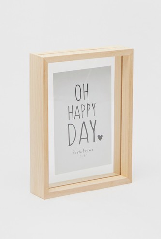 Wooden Picture Frame - 4x6 inches