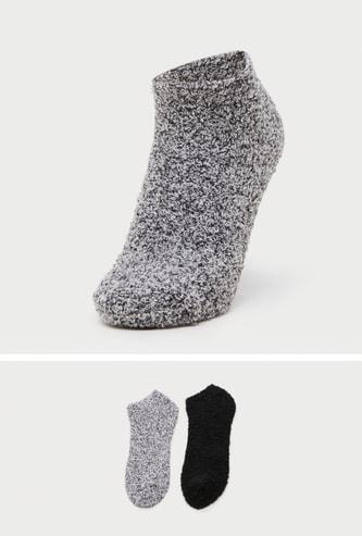 Pack of 2 - Assorted Ankle-Length Socks
