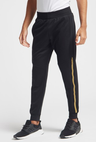 Stripe Detail Jog Pants with Pockets and Elasticised Waistband