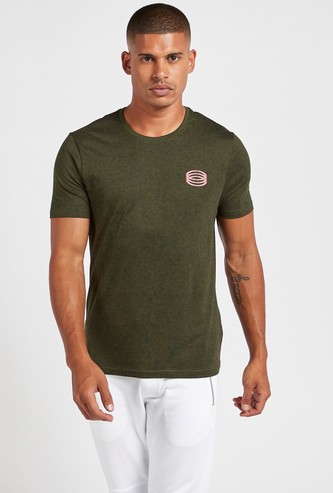 Grindle T-shirt with Round Neck and Short Sleeves