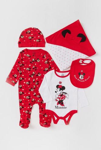 Minnie Mouse Print 5-Piece Clothing Set