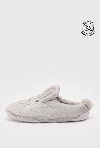 حذاء خفيف قطيفة لغرفة النوم تيدي