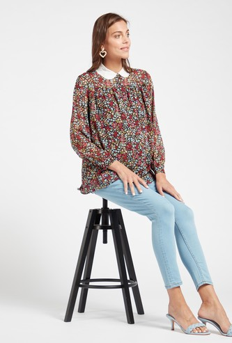 Solid Maternity Mid-Rise Ankle Length Denim Jeans