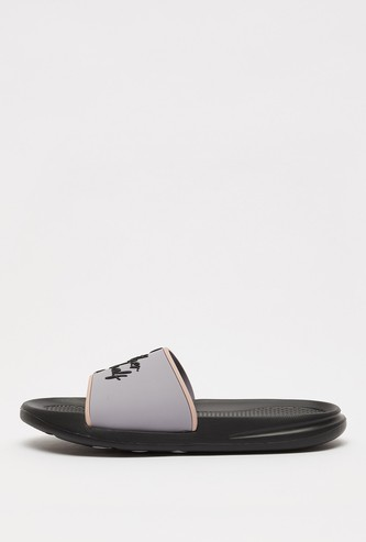Mickey and Minnie Mouse Textured Slip-On Slides