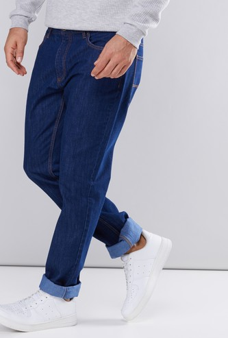 Full Length Jeans in Straight Fit