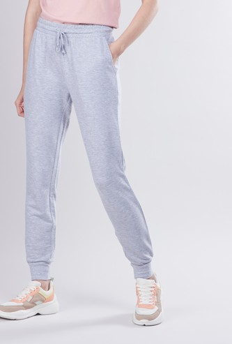 Full Length Anti-Pilling Joggers with Pocket Detail and Drawstring