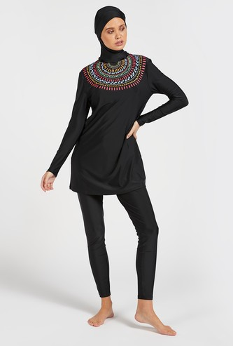 Tribal Print Burkini