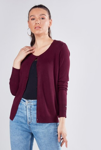 Textured Suede Sherpa with Long Sleeves