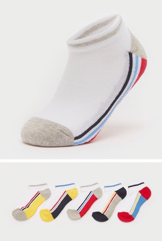 Pack of 5 - Assorted Ankle Length Sports Socks