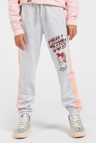 JoJo Siwa Print Jog Pants with Pockets and Drawstring