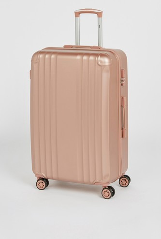 Solid Hard Cover Suitcase with Wheels