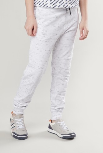 Knit Joggers with Pockets and Drawstring Closure