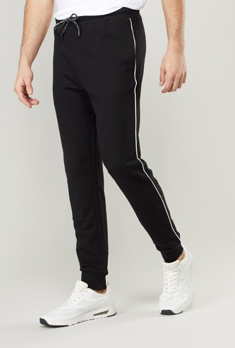 Slim Fit Mid-Rise Cuffed Joggers