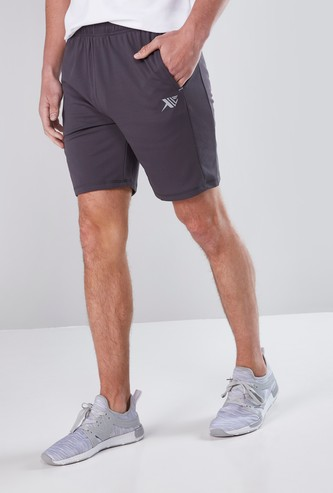 Mesh Shorts with Pocket Detail