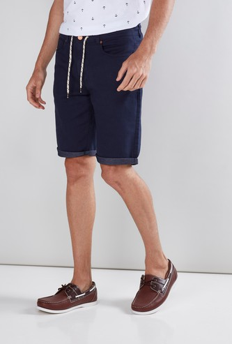 Pocket Detail Shorts in Regular Fit
