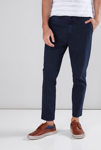 Full Length Chinos in Skinny Fit with Pockets