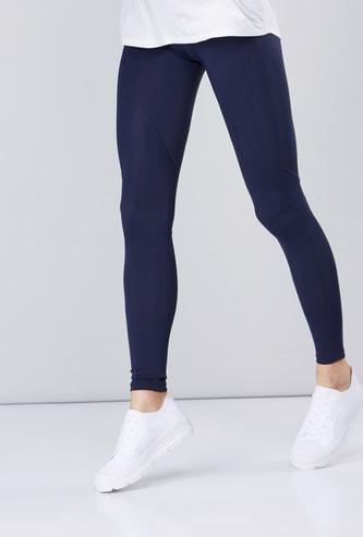 Compression Full Length Leggings in Slim Fit