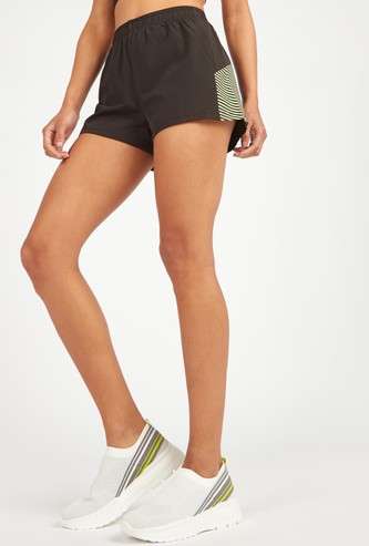 Stripe Detail Shorts with Elasticised Waistband