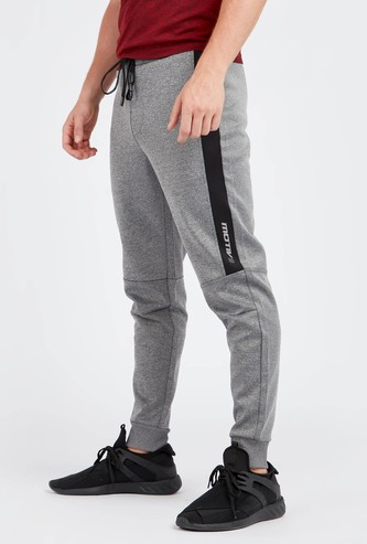 Grindle Panel Joggers with Side Pockets and Drawstring Closure