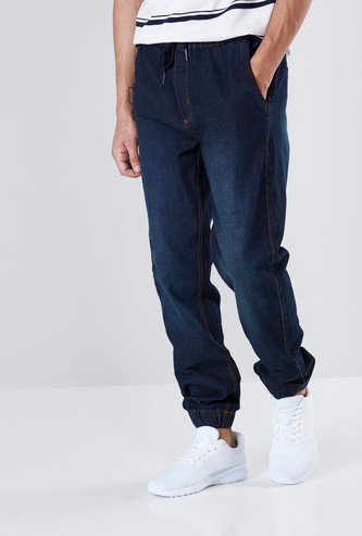 Comfort Fit Joggers with Drawstring Closure
