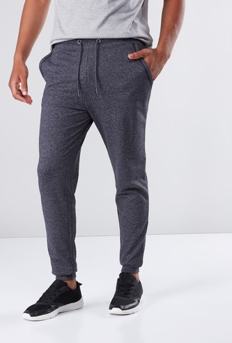 Full Length Jog Pants in Regular Fit with Drawstring