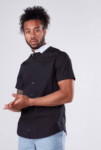 Short Sleeves Shirt in Regular Fit