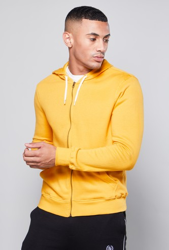 Plain Hoodie with Long Sleeves