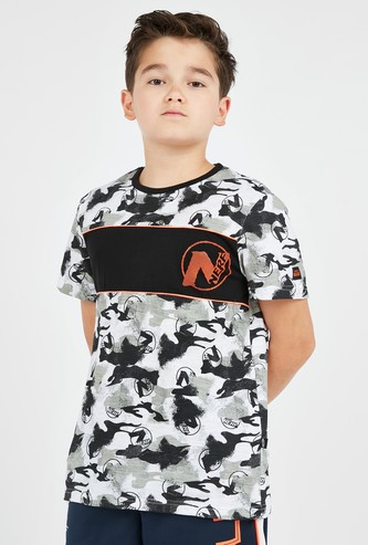 NERF All Over Print T-shirt with Short Sleeves