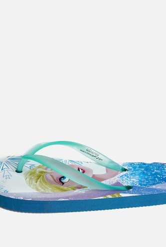 Frozen Print Flip Flops with Straps