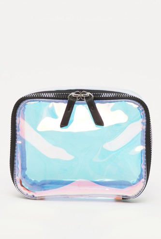 See Through Pouch with Zip Closure
