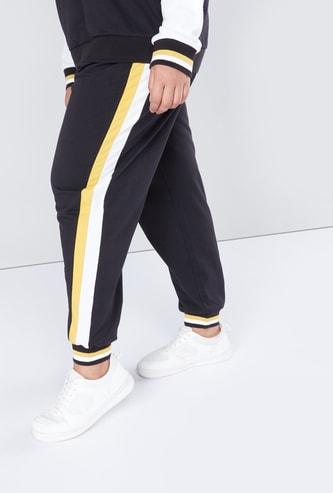 Stripe Detail Jog Pants in Regular Fit