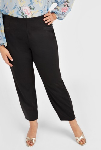 Solid Ponte Pants
