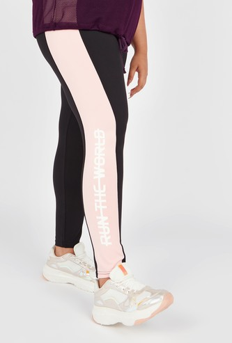 Printed Active Leggings