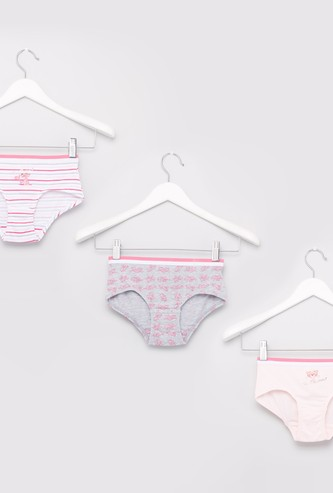 Set of 3 - Pink Panther Printed Briefs