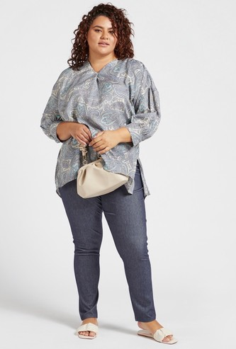 Full Length Solid Leggings with Pockets and Belt Loops
