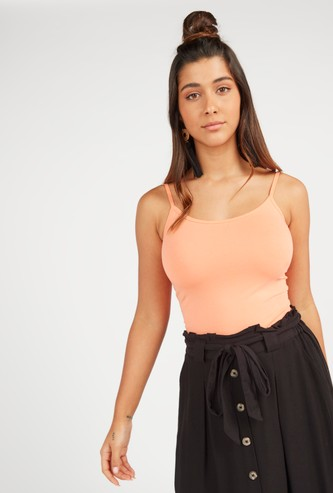Solid Sleeveless Camisole